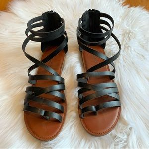 Women's American Eagle Strappy Sandals Size 10